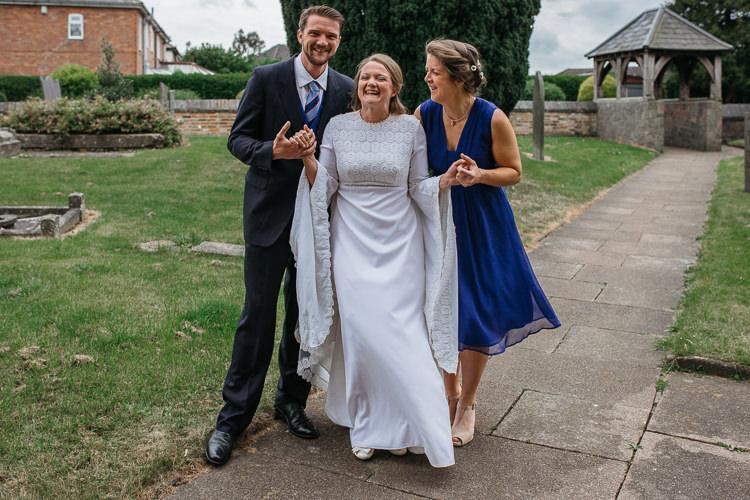 Outdoor Farm Wedding 1970s Dress https://www.magdak.co.uk/