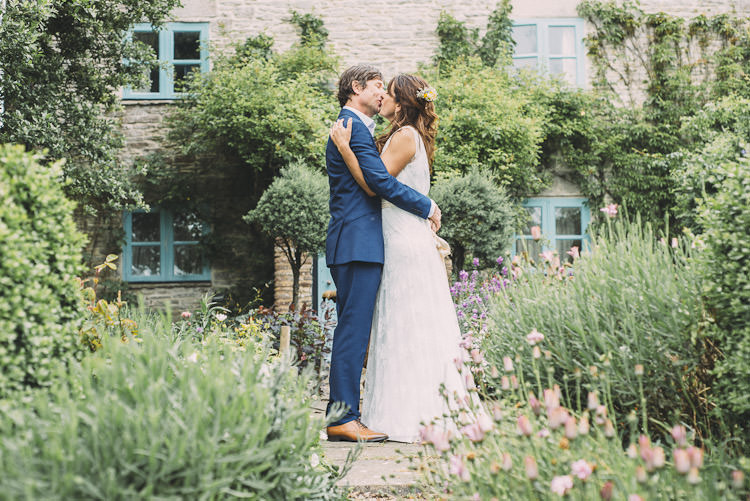 Kiss Bride Bridal Dress Charlie Brear Gown Reiss Groom Fun Laid Back DIY Rustic Marquee Wedding http://www.louisegriffinphotography.com/