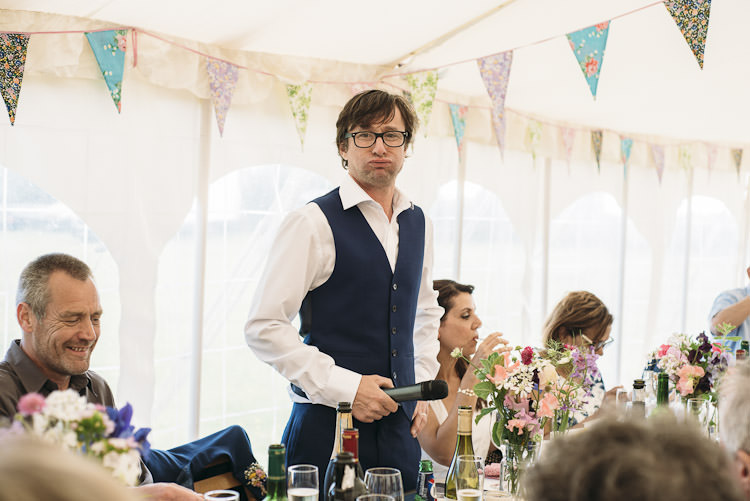 Fun Laid Back DIY Rustic Marquee Wedding http://www.louisegriffinphotography.com/