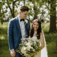 Nostalgic Playful Greenery Floral Garden Wedding http://jesspetrie.com/
