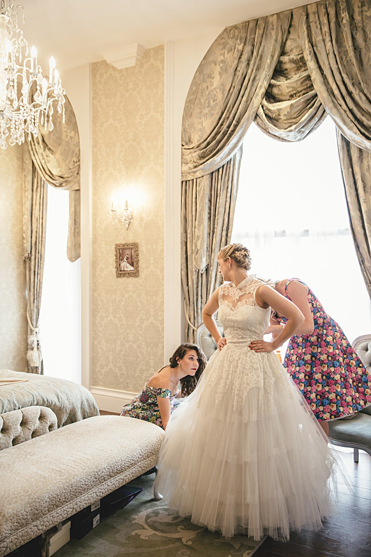 Colourful Home Made Vintage City Wedding http://kat-hill.com/