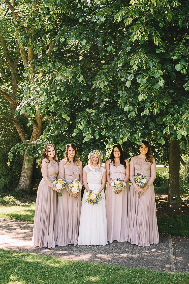 Long Nude Bridesmaid Maxi Dresses Rustic Boho Summer Tipi Wedding https://www.luciewatsonphotography.com/