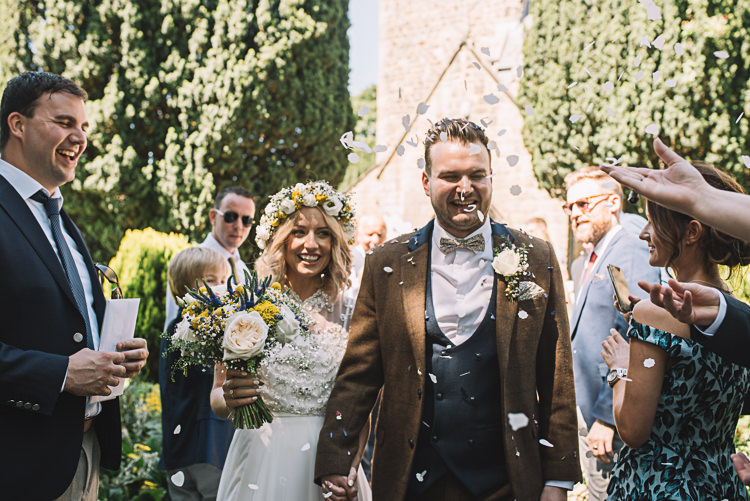 Confetti Throw Rustic Boho Summer Tipi Wedding https://www.luciewatsonphotography.com/