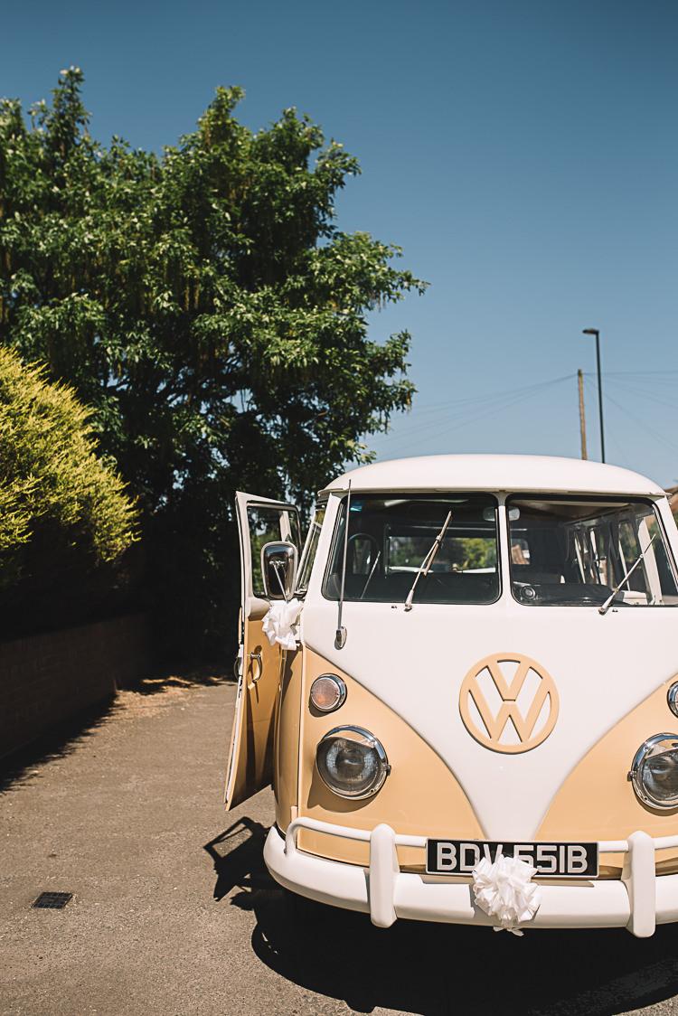 VW Campervan Transport Rustic Boho Summer Tipi Wedding https://www.luciewatsonphotography.com/