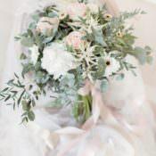 Blush Pink Wedding Flower Ideas