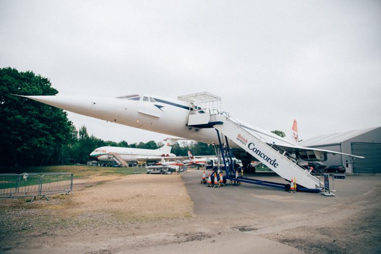 Travel Aircraft Museum Wedding Concorde http://www.nikkivandermolen.com/