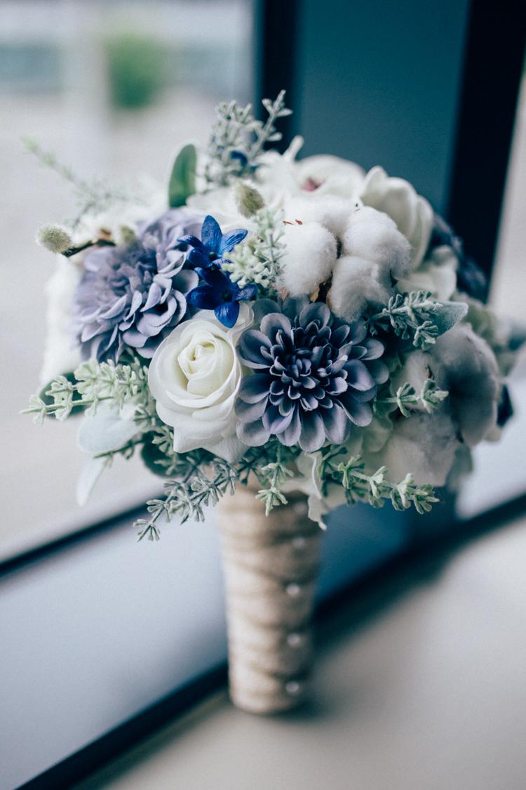 Bouquet Flowers Succulent Rose Cotton Silk Artificial Travel Aircraft Museum Wedding Concorde http://www.nikkivandermolen.com/