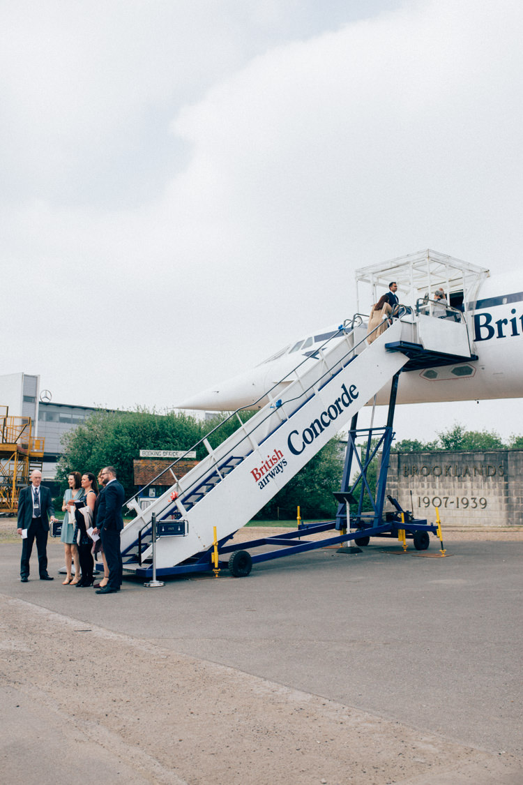 Travel Aircraft Museum Wedding on Concorde | Whimsical Wonderland ...