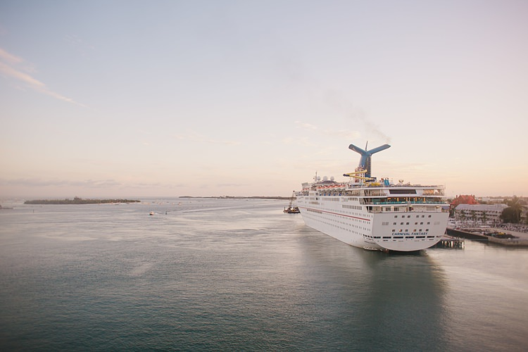 Cruise Ship Whimsical Pastel Key West Beach Wedding http://kristenbooth.net/