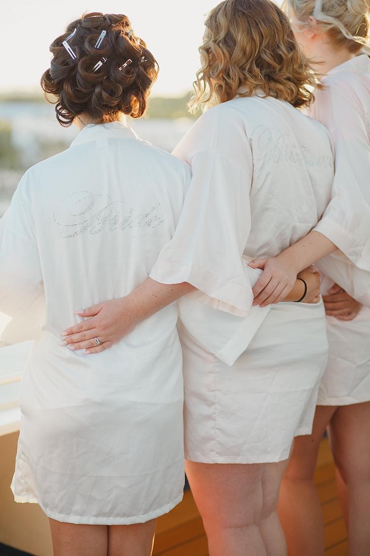Bride Bridesmaids Getting Ready Whimsical Pastel Key West Beach Wedding http://kristenbooth.net/