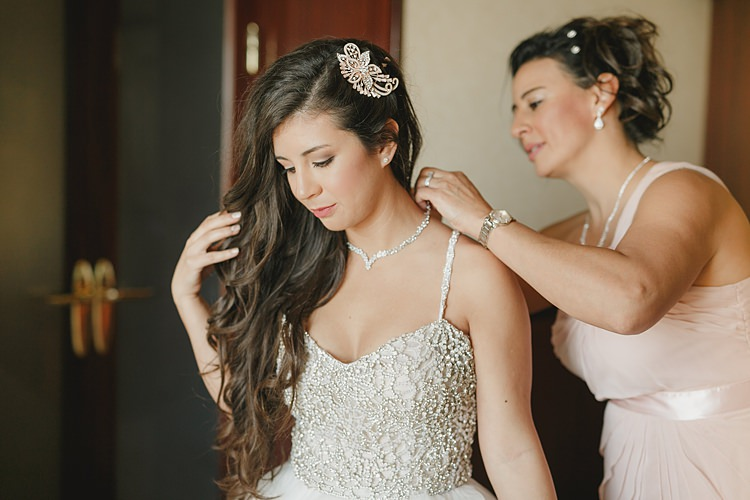 Bride Getting Ready Whimsical Pastel Key West Beach Wedding http://kristenbooth.net/