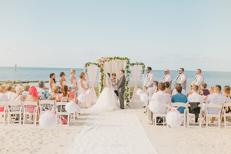 Whimsical Pastel Key West Beach Wedding http://kristenbooth.net/