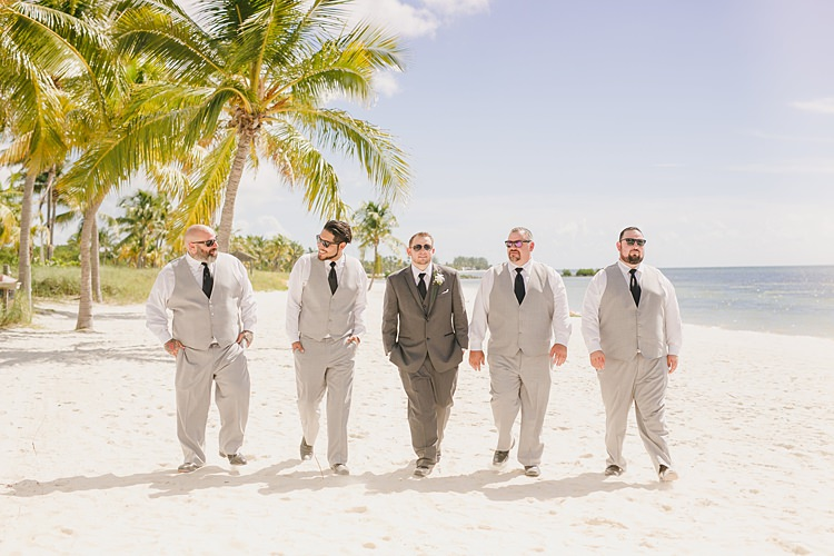 Groomsmen Whimsical Pastel Key West Beach Wedding http://kristenbooth.net/