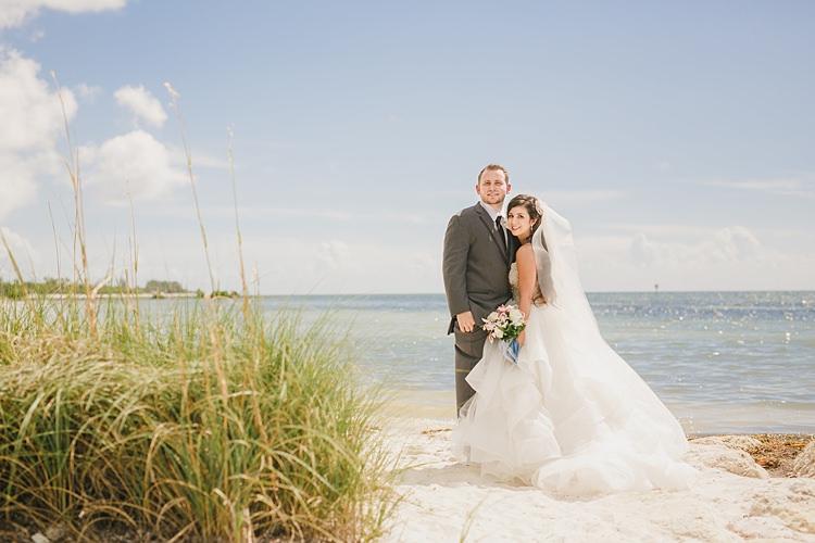 Bride Groom Sea Whimsical Pastel Key West Beach Wedding http://kristenbooth.net/