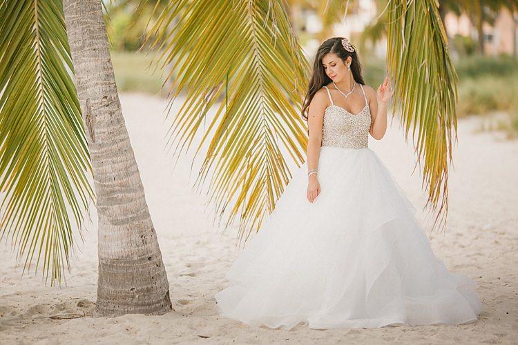 Whimsical Pastel Key West Beach Wedding Whimsical