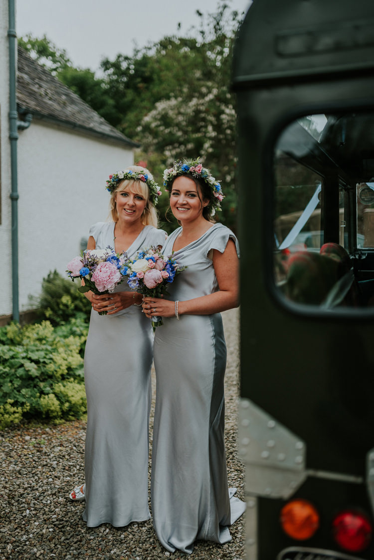 Long Grey Bridesmaid Dresses Ghost Maxi Silk Enchanting Cornflower Blue Marquee Wedding https://burfly.co.uk/