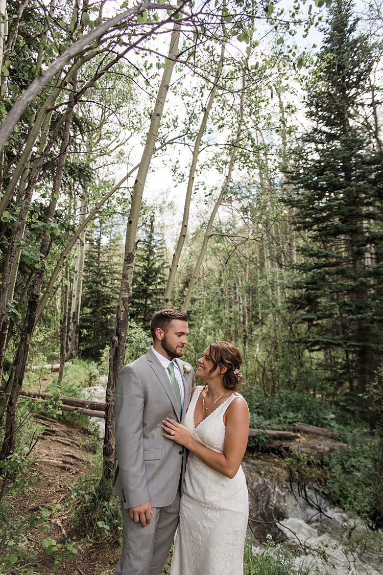 Bride Groom Forest Scenic Rocky Mountain National Park Elopement http://allisonslaterphotography.com/