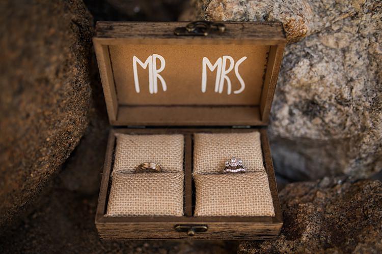 Mr Mrs Rings Scenic Rocky Mountain National Park Elopement http://allisonslaterphotography.com/