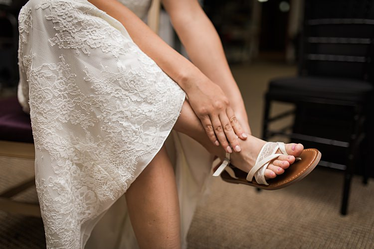 Bride Shoes Sandals Scenic Rocky Mountain National Park Elopement http://allisonslaterphotography.com/