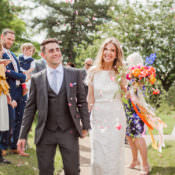 Whimsical Unicorn Rainbow Wedding