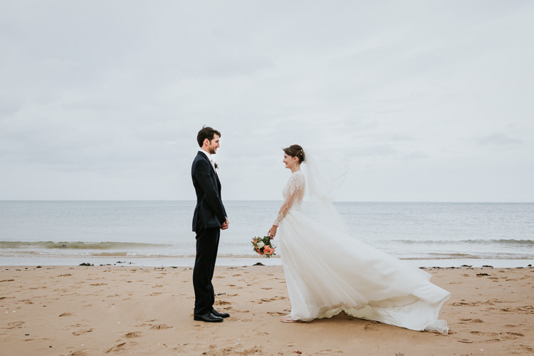 Colour Pop Coral Beach Wedding http://www.kategrayphotography.com/