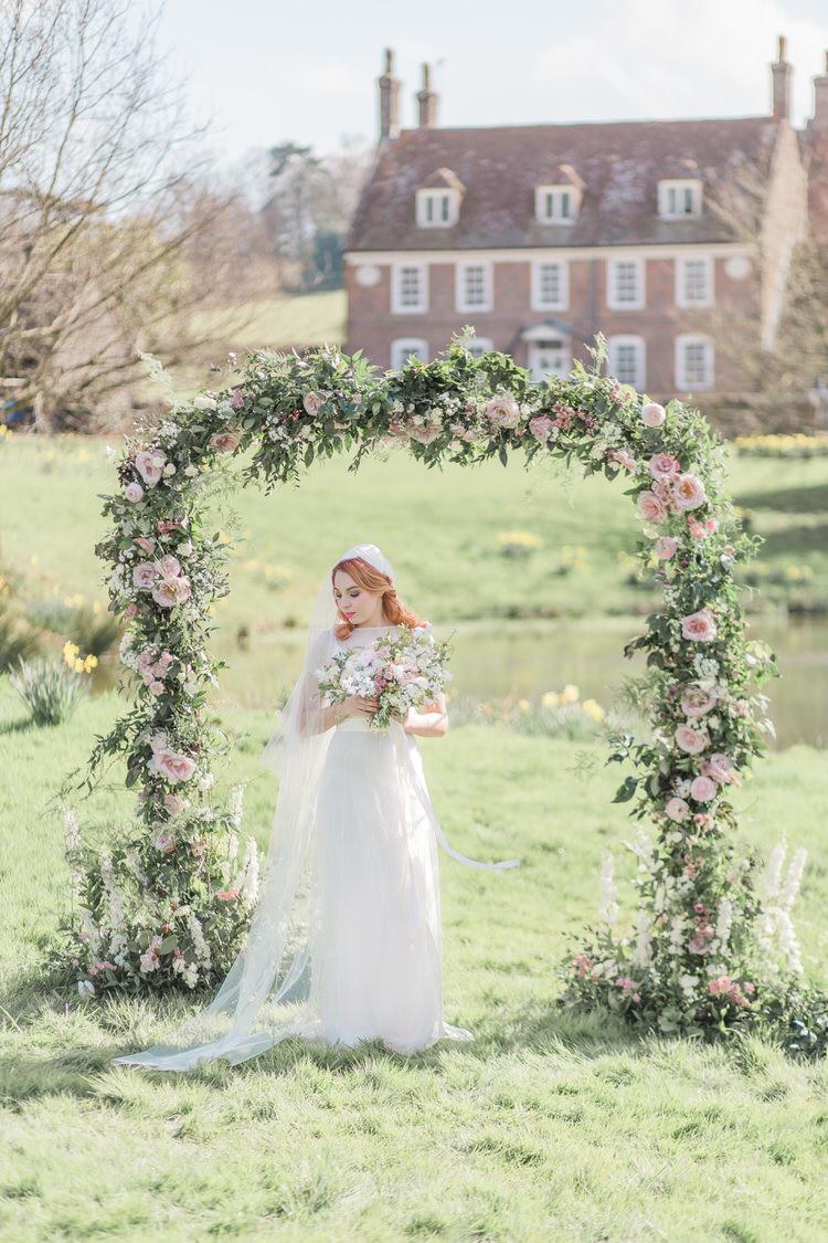 Ethereal Fine Art William Morris Wedding Ideas http://jessicadaviesphotography.co.uk/