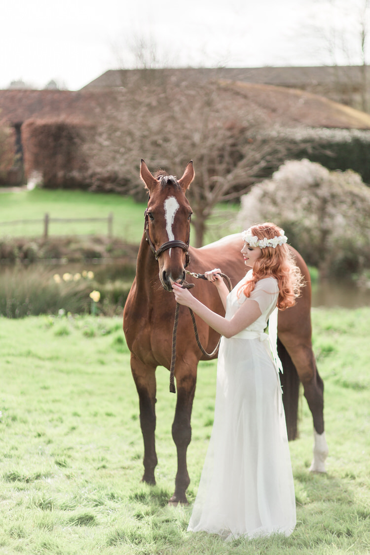 Horse Pet Ethereal Fine Art William Morris Wedding Ideas http://jessicadaviesphotography.co.uk/