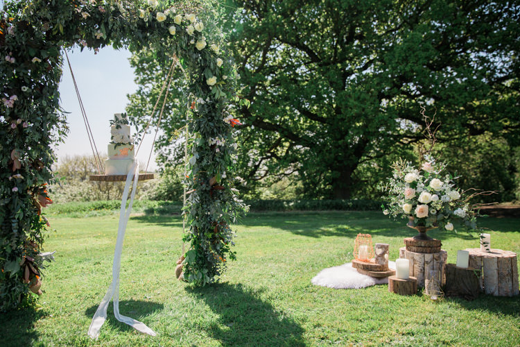 Flower Arch Backdrop Decor Bohemian Garden Greenery Wedding Ideas http://www.storytellerphotography.co.uk/