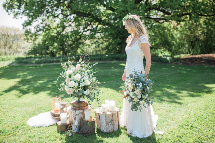Bohemian Garden Greenery Wedding Ideas http://www.storytellerphotography.co.uk/