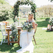Bohemian Garden Greenery Wedding Ideas