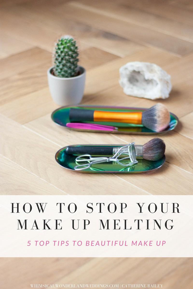 Melting Make Up Wedding Bride Bridal Beauty Tips Advice