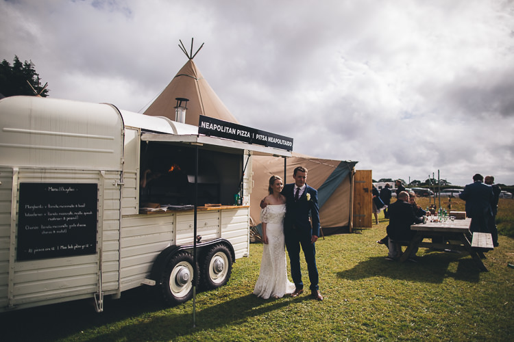 Pizza Truck Large DIY Bohemian Tipi Party Wedding http://www.mikeplunkettphotography.com/