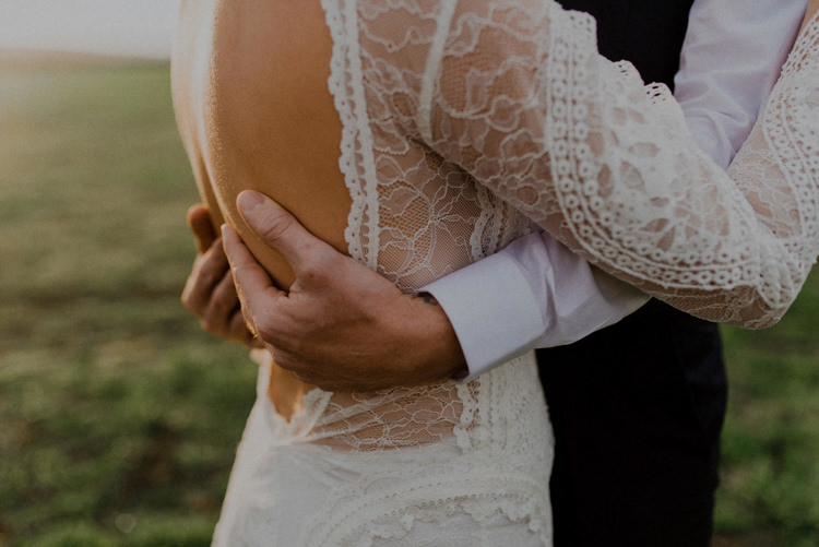 Grace Loves Lace Dress Gown Bride Bridal Back Sleeves Dreamy Natural Boho Barn Wedding https://heychrisrandle.com/