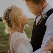 Dreamy & Natural Boho Barn Wedding