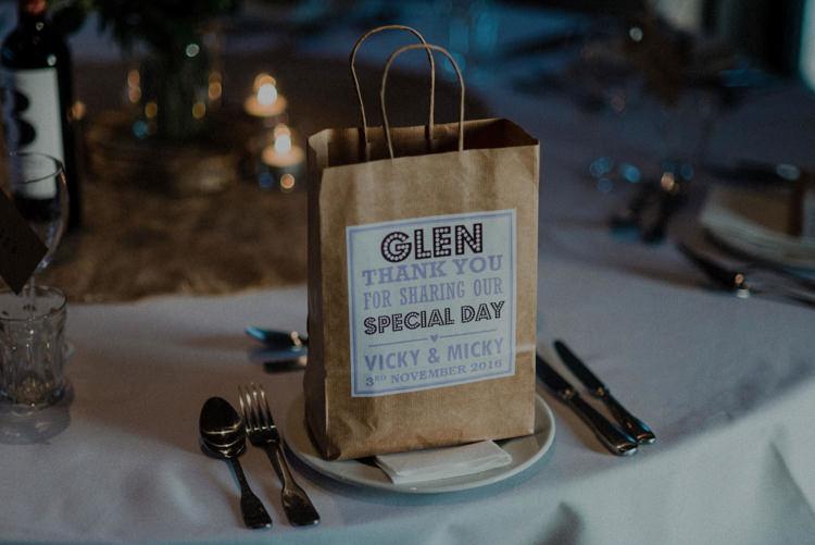 Bag Favours Goodies Dreamy Natural Boho Barn Wedding https://heychrisrandle.com/