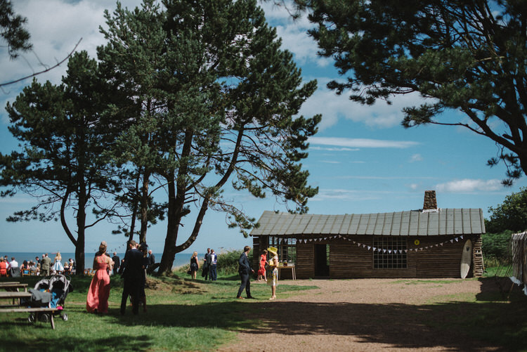 Vintage Log Cabin Wedding Sea http://www.lisadevinephotography.co.uk/