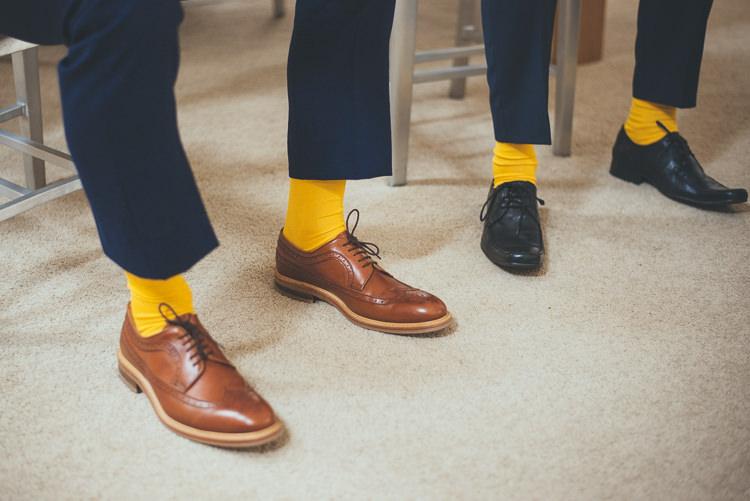 Groom Fashion Suit Yellow Mustard Socks Brogues http://bigbouquet.co.uk/