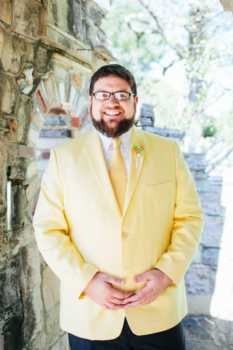 Groom Fashion Yellow Blazer Colour Suit http://www.alexbeephoto.com/