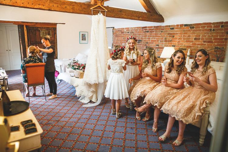 Rustic Barn Red Gold Glam Wedding https://garethnewsteadphotography.com/
