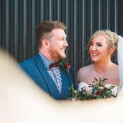 Rustic Barn Red & Gold Glam Wedding