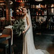 Industrial Greenery City Wedding Ideas