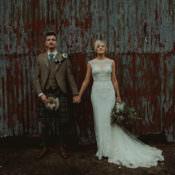 Whimsical & Modern Rustic Barn Wedding