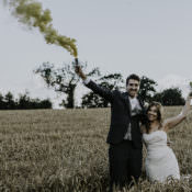 Enchanting Country Barn Wedding