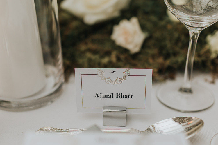 Place Name Card Natural Elegance Asian Fusion Wedding Ideas http://liannegrayphotography.com/