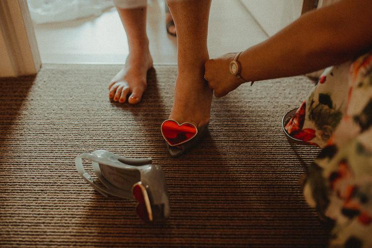 Heart Peep Toe Shoes Bride Bridal Eclectic Kitsch Retro Fete Wedding http://www.belleartphotography.com/