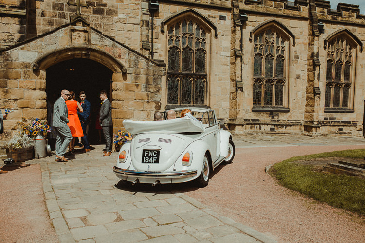 VW Beetle Car Transport Eclectic Kitsch Retro Fete Wedding http://www.belleartphotography.com/
