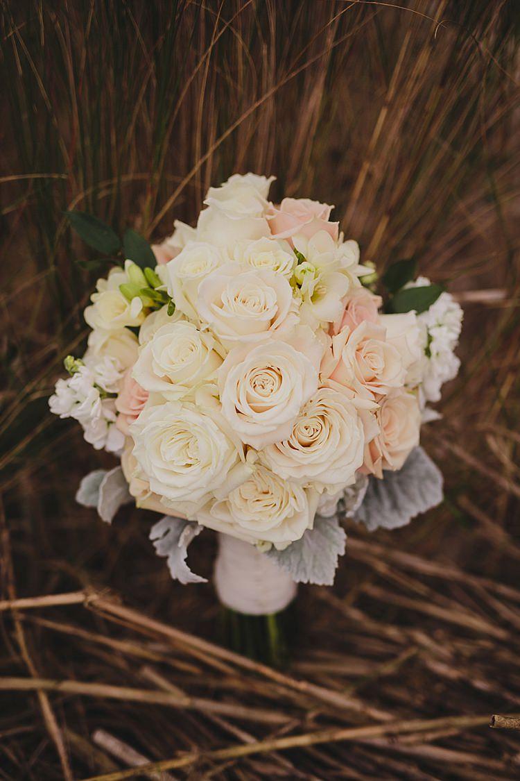 Roses Bouquet Magical Wedding Ceremony Beneath An Oak Tree Florida http://stephaniew.com/
