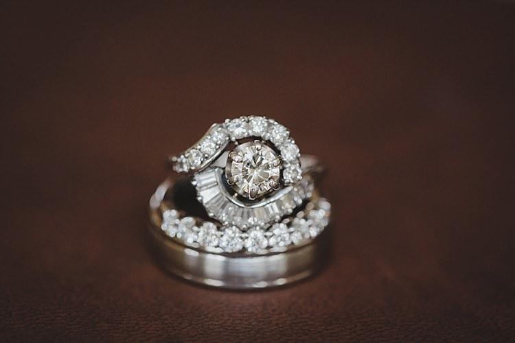 Rings Magical Wedding Ceremony Beneath An Oak Tree Florida http://stephaniew.com/