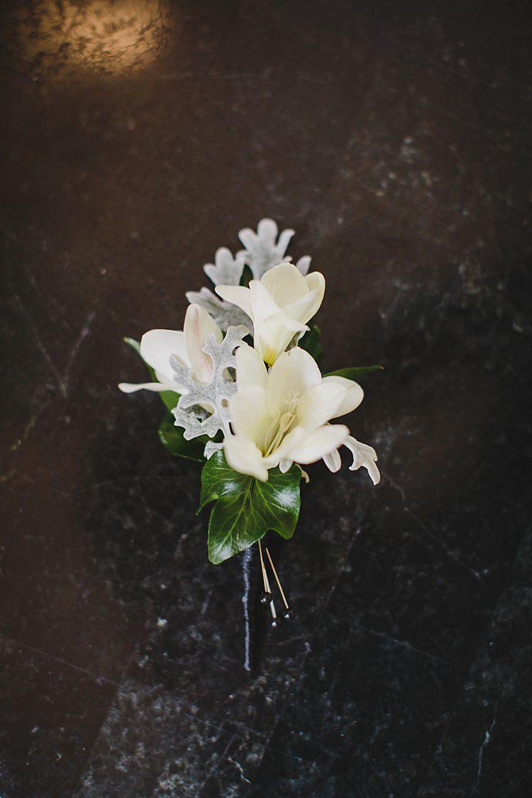 Buttonhole Magical Wedding Ceremony Beneath An Oak Tree Florida http://stephaniew.com/