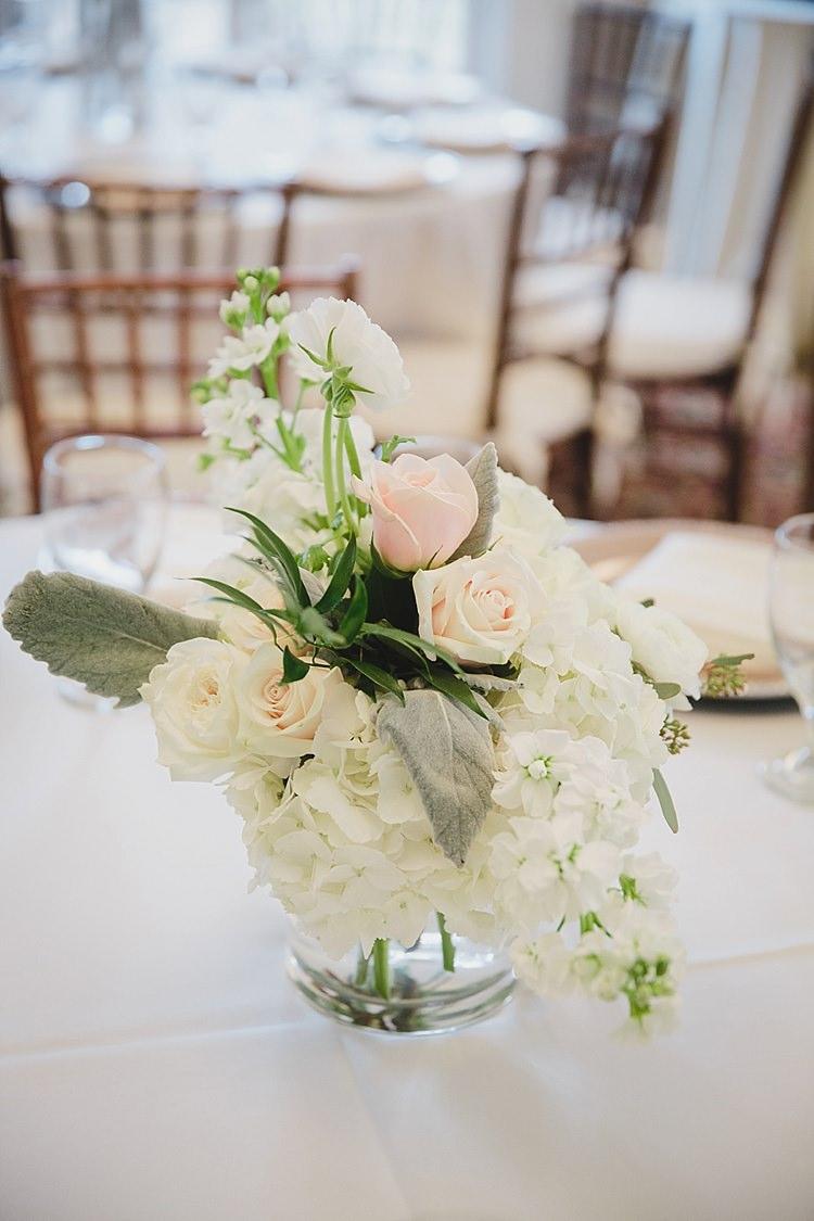 Floral Centre Piece Magical Wedding Ceremony Beneath An Oak Tree Florida http://stephaniew.com/